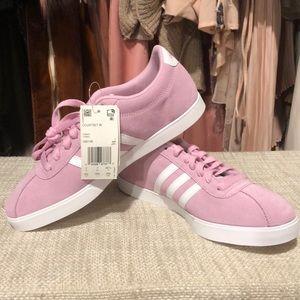 NIB Adidas Courtset Suede Shoe